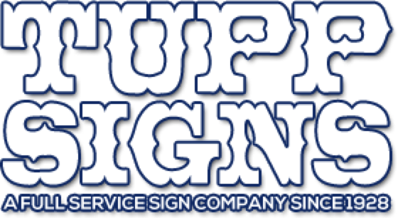 Tupp Signs logo
